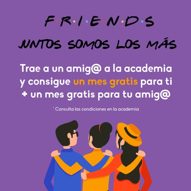Friends en ENGLISH ACADEMY